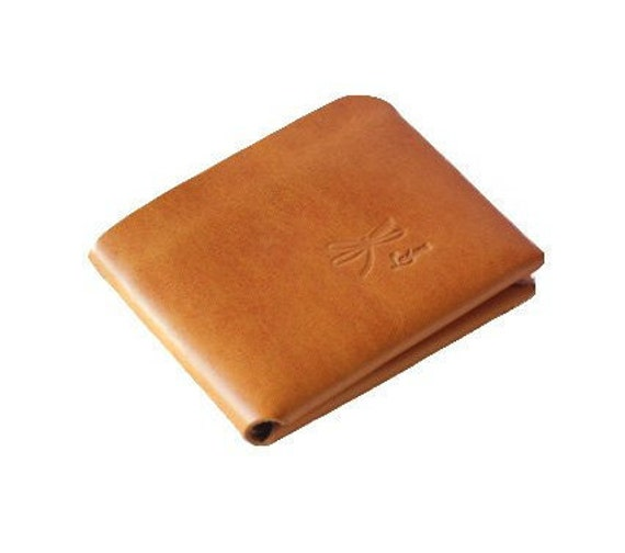 Leather Wallet, Minimal wallet. Complete for credit cards and cash. Convenient and simple wallet, without seams or rivets.