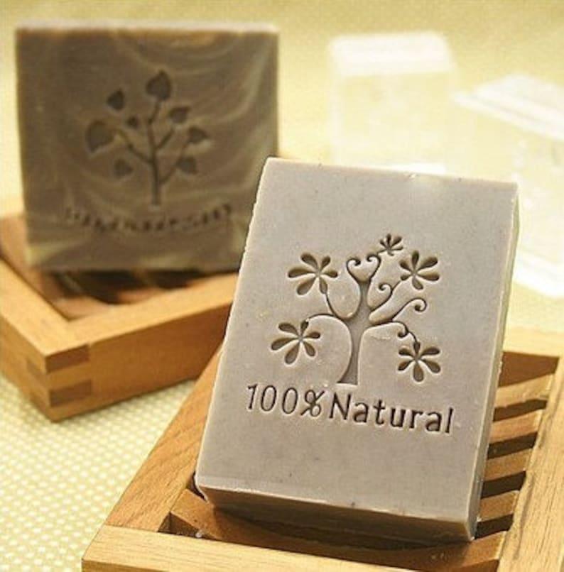 Tree Soap Stamp Acrylic Handmade