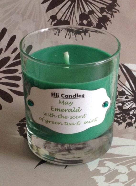 Birthstone candles May. Part of our new range with a ...