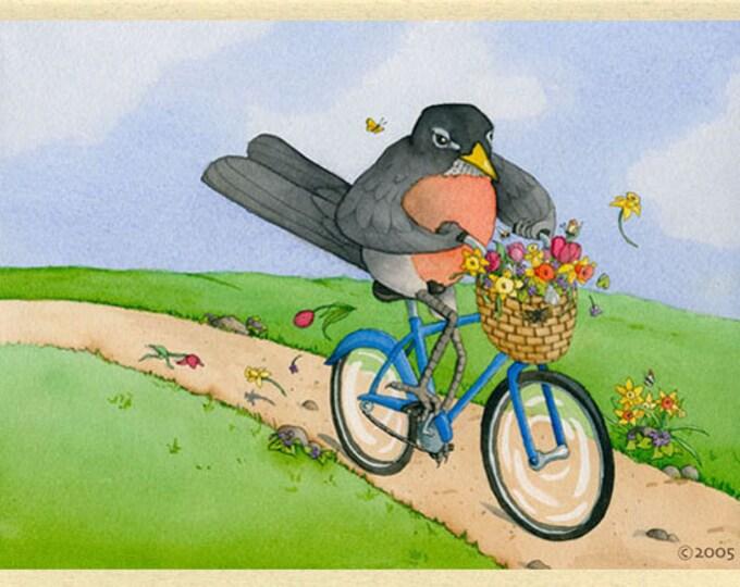 Robin (Spring Harbinger) Greeting Card