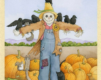 Tattie Bogle (scarecrow) Greeting Card