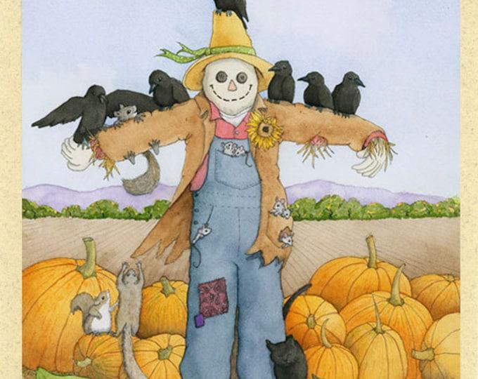 Tattie Bogle (scarecrow) Greeting Card