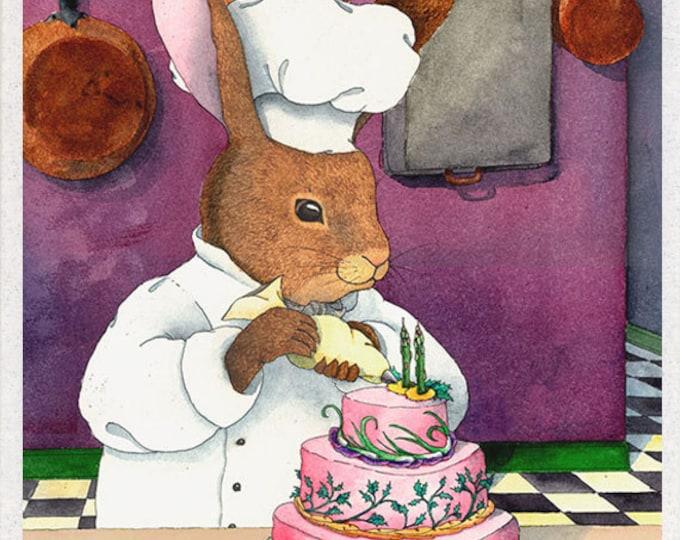 Rabbit (Garden Variety Birthday Cake) Birthday Card