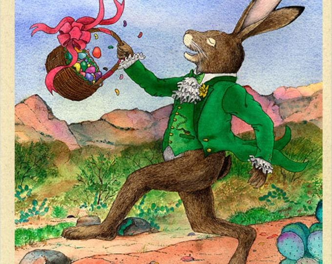 Jackrabbit (Easter Jack) Easter Card