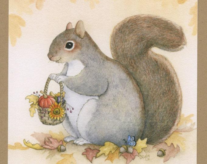Squirrel (Autumn Greetings) Greeting Card