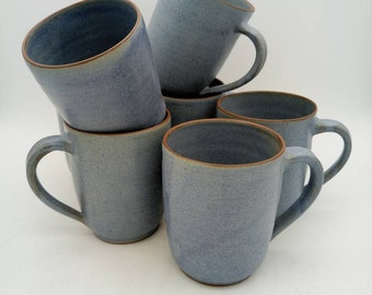 Pigeon blue cup