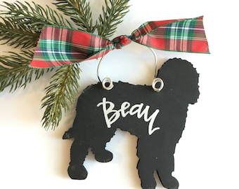goldendoodle labradoodle personalized ornament - Goldendoodle Christmas Decorations