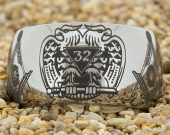 12mm Dome-Tungsten Masonic, Mens Tungsten Wedding Band, Black Tungsten Ring, Tungsten Carbide Ring, Engagement Ring, Free Inside Engraving