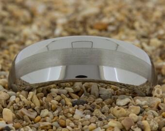 Tungsten Ring, Tungsten Wedding Band, Black Tungsten Ring, Men's Tungsten Wedding Band, Ring, Engagement Ring, Wedding Ring, Tungsten Band