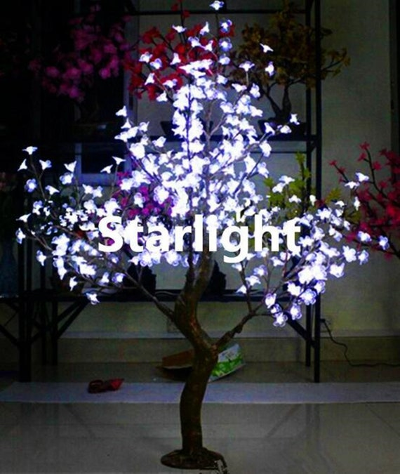 Outdoor Led Simulation Cherry Blossom Tree With Artificial Etsy