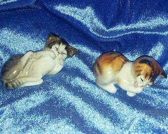 Vintage Royal Doulton Kitten Figurines Bone China