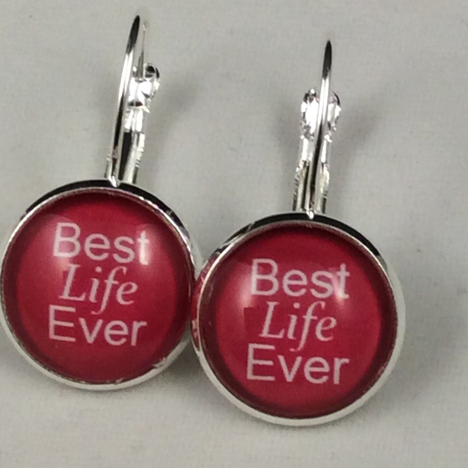 ae6a0b691 JW Best Life Ever Lever-Back Earrings 14mm Glass, Antique Brass or ...