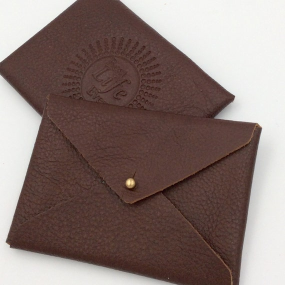 JW Top Grain Leather Card Holder.  Best Life Ever