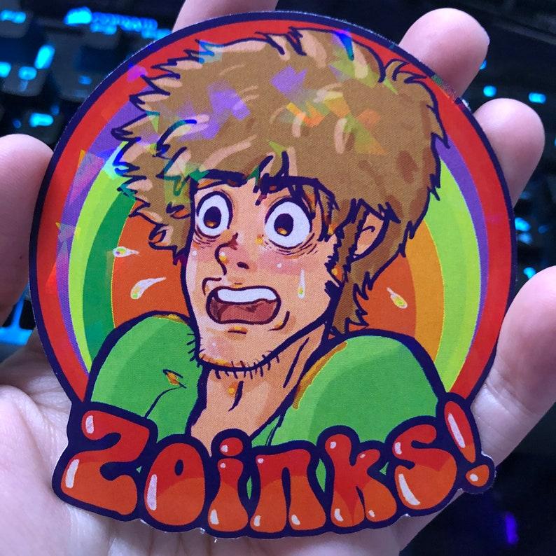 Scooby-Doo  Shaggy  Daphne  Velma  Fred Jones  Shaggy says Zoinks!