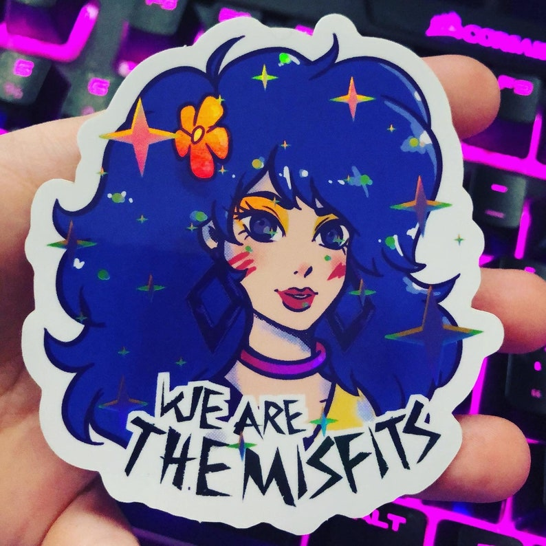 Pizzazz  The Misfits  Jem & the holograms  80s glam  STORMER