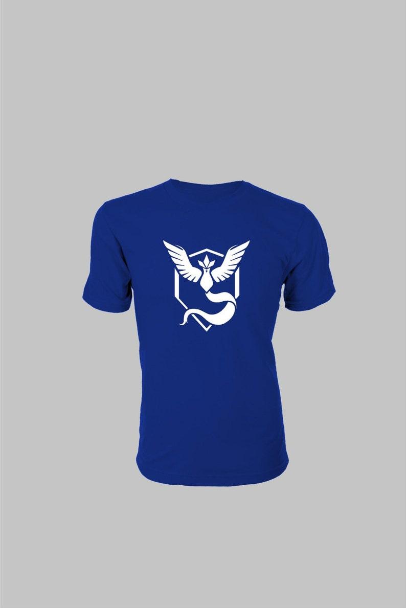 5d77d5c3 Pokemon Go T-shirt Team Mystic Water Charmander Flareon | Etsy