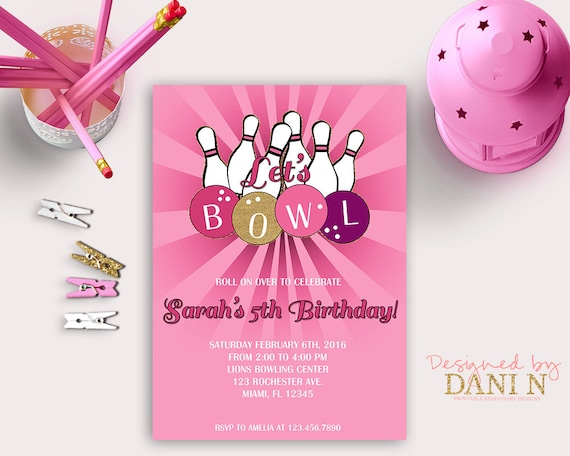 photo about Bowling Pin Printable known as Crimson Bowling Birthday Invitation, Incredibly hot Red Bowling Bash
