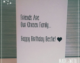 Best Friend Greeting Cards Birthday Card Happy Funny Bitches