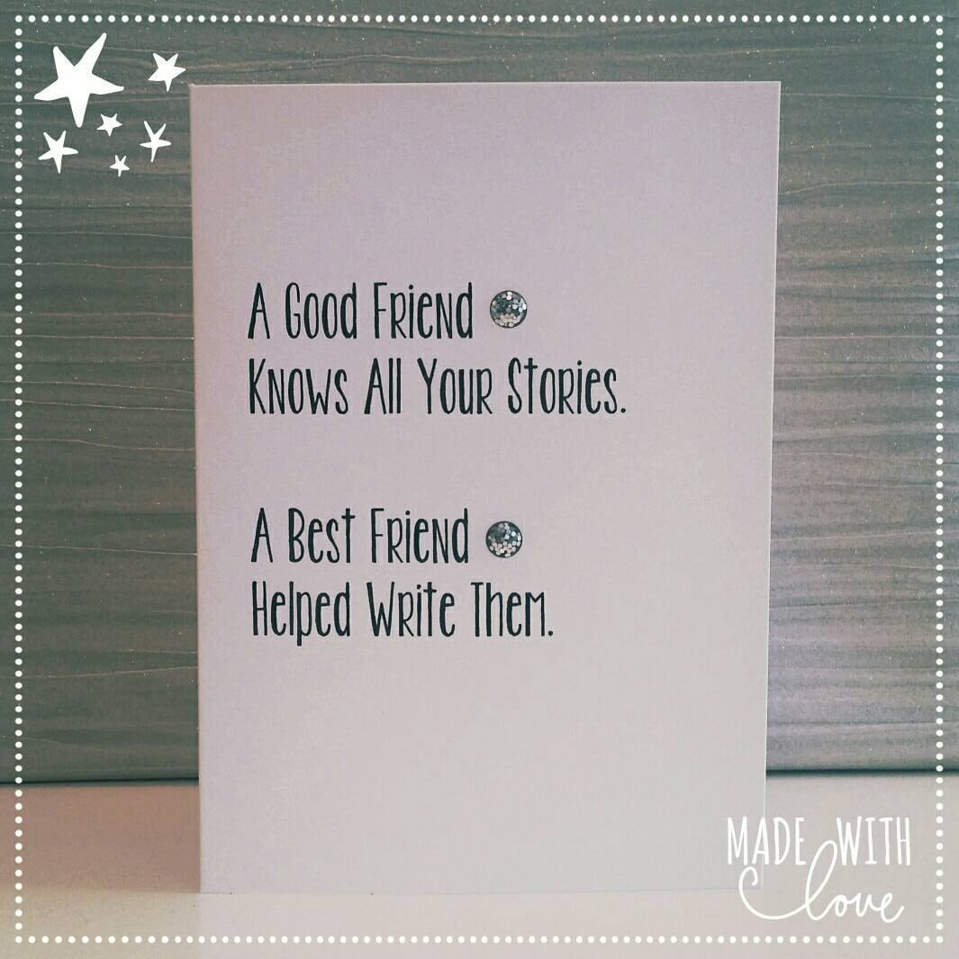 Best Friend Greeting Cards Birthday Card