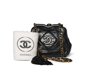 d03efff82e3f Chanel Black Quilted CC Waist Bag