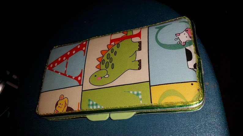 Animal Themed Letter Decorative Diaper Wipes Case