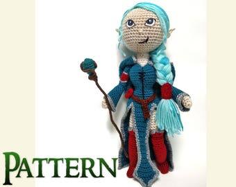 Crochet Pattern Amigurumi Dolls | Mythical Creature | Fantasy Art Doll | Plush Toy Pattern | Crochet Toy Patterns | Decorative Dolls