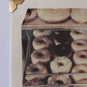 Wheel Inn Drive In Polaroid emulsion lift photograph Sedalia MO