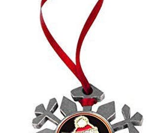 Youngstown State Penguins Snowflake Ornament