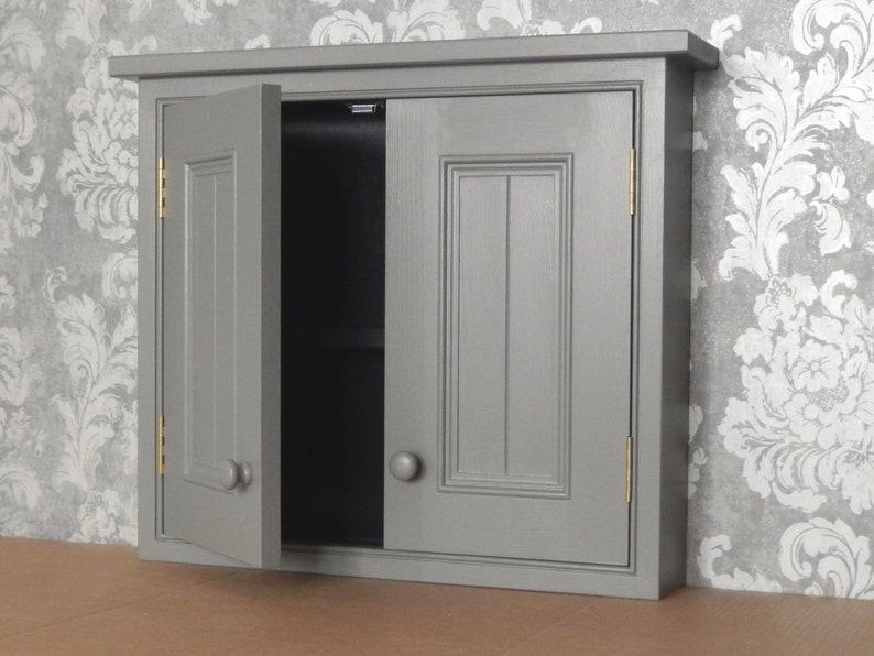 Muur kast met 2 deuren mollen adem 2 deur muur kast badkamer etsy