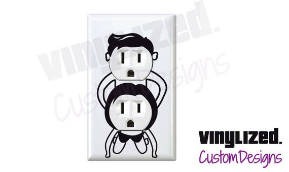 3x Outlet Cover Adult Switchplate Decal Wall Plate Humor Funny Etsy