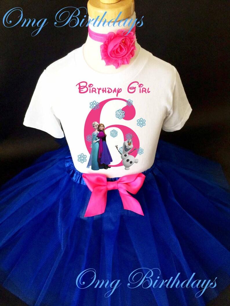Girls Frozen Anna Elsa Long Sleeve Pink White Stripes Dress Ages 3-7