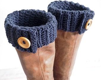 Easy Boot Cuff Crochet Pattern | Even Moss Stitch Boot Cuff | Crochet Pattern | Crochet Boot Cuff Pattern | PDF Pattern | Digital Download