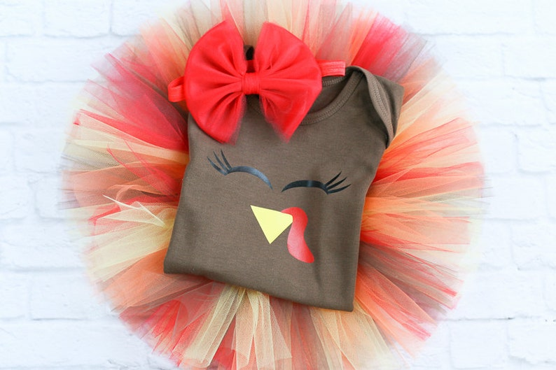 4db17b23c Baby Girl Thanksgiving Outfit Newborn Thanksgiving Outfit