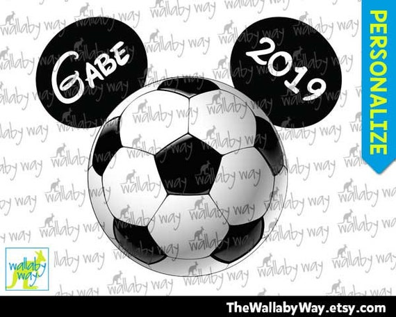 photo relating to Printable Soccer Ball identify Football Ball Mickey Mouse Ears Printable Iron Upon Move or Seek the services of as Clip Artwork Do-it-yourself Disney Blouse Household Holiday vacation Printable Customized Soccer