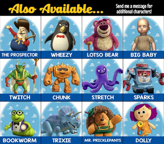 toy story 4 characters names