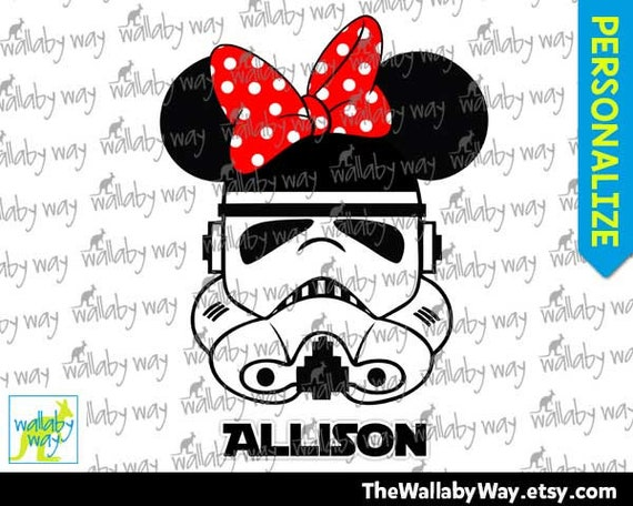 photograph relating to Stormtrooper Printable referred to as Stormtrooper Star Wars Minnie Crimson or Scorching Crimson Bow Printable Disney Iron Upon Move or Seek the services of as Clip Artwork - Do-it-yourself Blouse - Star Wars Weekend