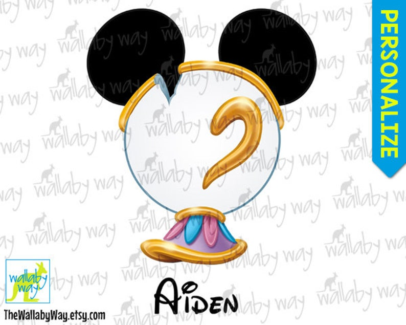 picture about Chip Teacup Printable called CHIP Teacup Mickey Brain Magnificence the Beast Printable Disney Iron Upon Go or Employ as Clip Artwork - Do-it-yourself Blouse Matching Getaway Mickey Ears