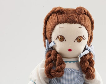 Dorotea - Handmade Cloth Doll