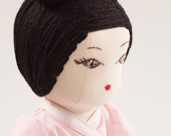 Li Na from Japan - Handmade Cloth Doll