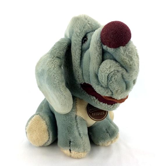 Wrinkles Baby Puppy Dog Plush Stuffed Animal Heritage Etsy