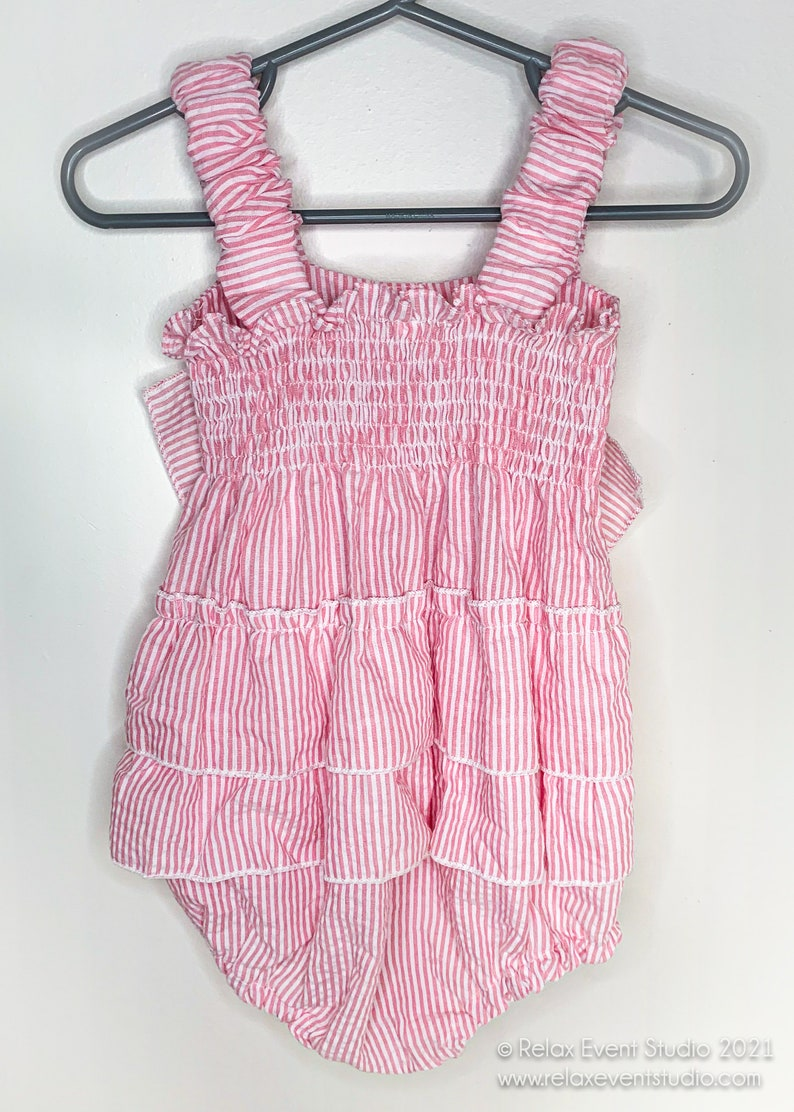 Baby Girl Summer Romper with Bow