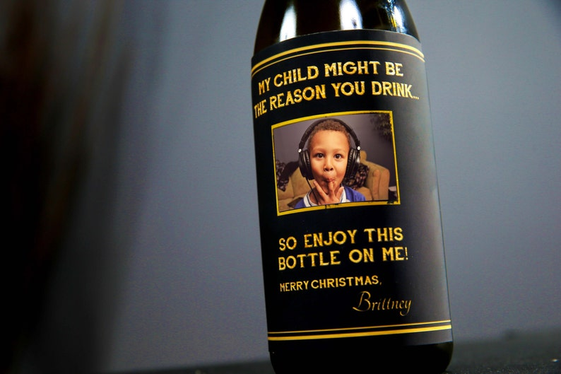 Custom Reason You Drink Christmas Present for Teacher / image 0
