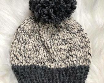 69f186ceb59 Chunky knit hat