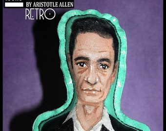 Johnny Cash Retro iCONS Primitive Collectible Doll