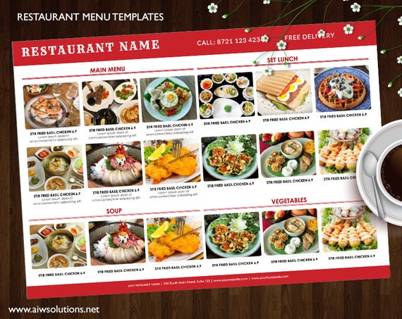bar menu template diy menu elegant menus food menu with etsy