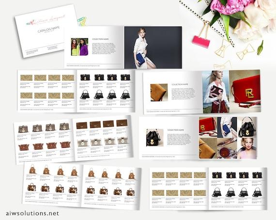 Fashion catalog template product catalog indesign catalogue etsy image 0 cheaphphosting Images