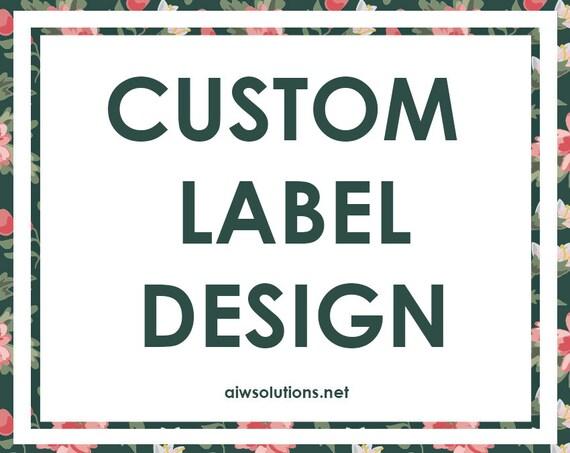 Bath Label hang tag design soap