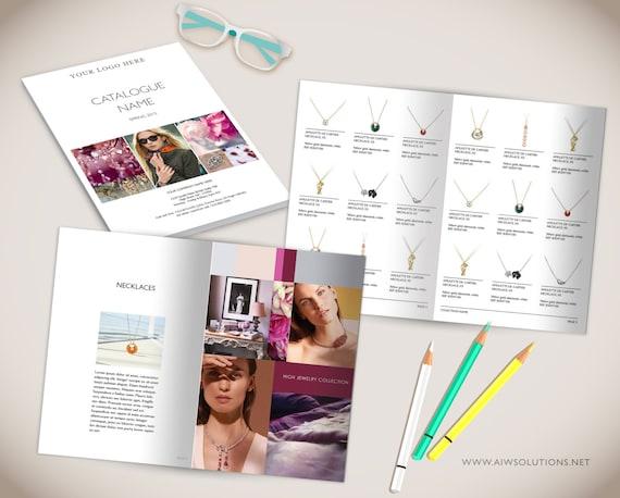 Großhandel Produktkatalog Vorlage Photoshop Produkt Katalog Etsy