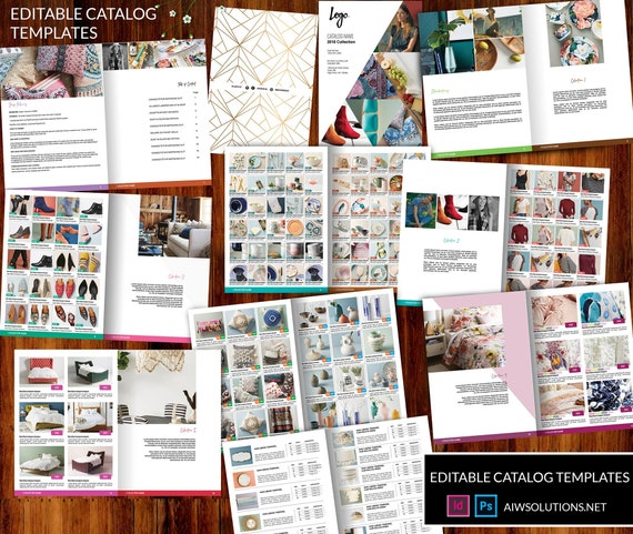 toy catalog template children catalogue template lighting etsy