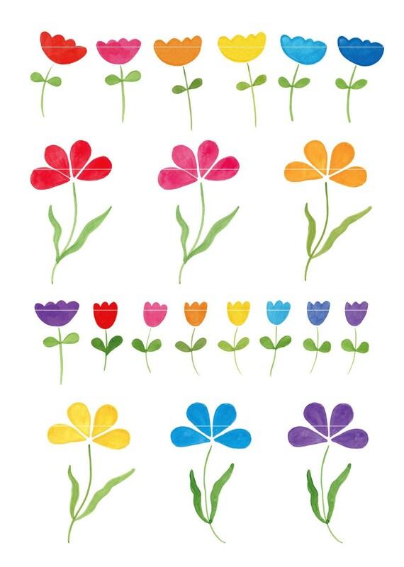 Phoenician Floral Art   Pre-Designed Illustrator Graphics ~ Creative Market